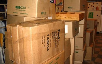Avoid used moving boxes for your move