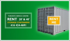 Self-Storage Containers Rentals in GTA